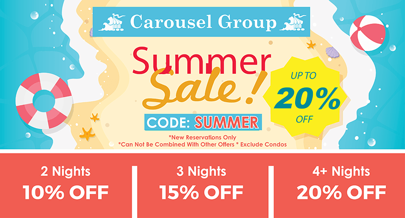 Carousel Group Summer Sale
